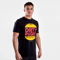 Rugby Division Burger Graphic Rugby T-Shirt