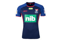 ISC Newcastle Knights NRL 2018 Players Rugby Training T-Shirt