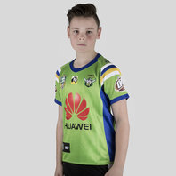 ISC Canberra Raiders NRL 2018 Kids Home S/S Rugby Shirt
