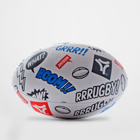 Rugby Division Hammer Graphic Rugby Training Ball