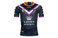 ISC Melbourne Storm NRL 2018 Home S/S Rugby Shirt
