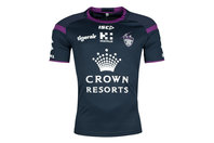 ISC Melbourne Storm NRL 2018 Players Rugby Training T-Shirt