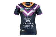 ISC Melbourne Storm NRL 2018 Kids Home S/S Rugby Shirt