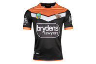 ISC Wests Tigers NRL 2018 Home Replica S/S Rugby Shirt