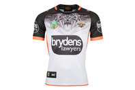 ISC Wests Tigers NRL 2018 Alternate Replica S/S Rugby Shirt