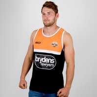 ISC Wests Tigers NRL 2018 Players Rugby Training Singlet