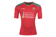 VX-3 Help for Heroes Wales 2018/19 S/S Rugby Shirt