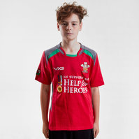 VX-3 Help for Heroes Wales 2018/19 Kids S/S Rugby Shirt
