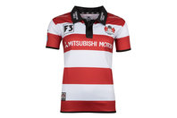 X Blades Gloucester 2017/18 Home Ladies S/S Replica Rugby Shirt
