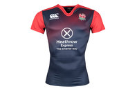 Canterbury England 2015/16 Players S/S Test Rugby Training Shirt