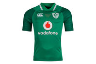 Canterbury Ireland IRFU 2018 Grand Slam Winners Home Pro S/S Rugby Shirt
