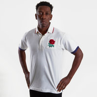England 2019/20 Vintage Rugby Polo Shirt