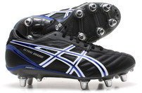 Asics Lethal Charge SG Rugby Boots Black / White / Blue