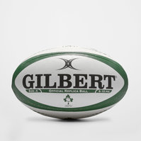 Ireland Replica Rugby Ball White/Green