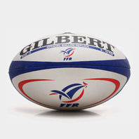 France Official Replica Rugby Ball White/Navy