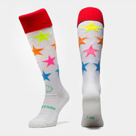 Wackysox Neon Stars Rugby Socks